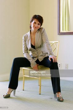 Photo d'actualité : Juliette Binoche, star of the movie 'Breaking and...