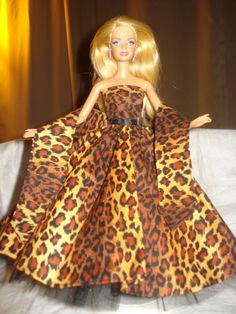 Stunning Leopard print formal dress and by KelleysKreationsLV, $18.50