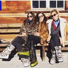 Essere trendy anche con i doposci: Moon Boot inspirations