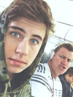 Nash Grier and daddy grier
