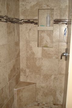 Attractive Tan Tile Shower Stall Http://www.diynetwork.com/how