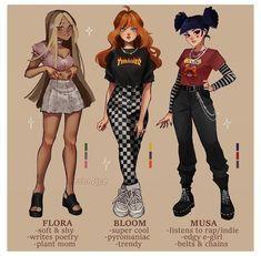 Cute Art Styles, Cartoon Art Styles, Surealism Art, Spy Girl, Les Winx, Disney Princess Fashion, Character Inspired Outfits, Korean Boy, Funky Art