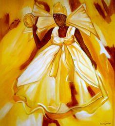 Mary Meyer Pinturas, Imagem Oxum.***