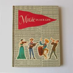 Antique 50s MUSIC IN OUR LIFE Textbook by nickandnessies, via Flickr I remember these books at school!