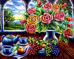 Morning Tea Painting
