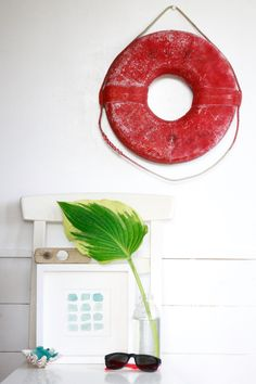 Life Saver Ring, Life Preserver, Lifebuoy, Vintage Japanese Maritime Decor, Nautical Wall Decor, Coastal Home Decor, Beach House Decoration by ReverseGem on Etsy