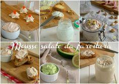 Mousse salate da farcitura è una piccola raccolta di ricette di mousse perfette per crostini, tartine, tramezzini, vol au vent, torte salate, etc