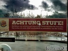 Achtung Stufe