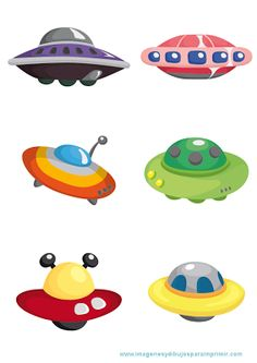 Illustration of cartoon ufo spaceship icon set vector art, clipart and stock vectors. Illustration Cartoon, Illustrations, Vector Clipart, Vector Free, Alien Spaceship, Space Aliens, Flying Saucer, Space Theme, Felt Ornaments