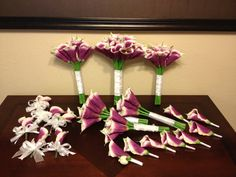 25 piece Wedding Flower Package with Silk by ShayesBridalBoutique, $605.00