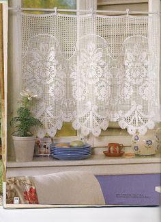 Melhor do Crochê: cortinas