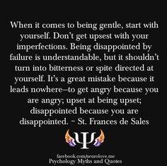 Quote from St. Frances de Sales
