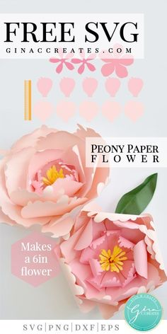 Awesome diy hacks hacks are offered on our web pages. Take a look and you wont be sorry you did. Giant Paper Flowers, Felt Flowers, Diy Flowers, Flower Paper, Quilling Flowers, Paper Quilling, Spring Flowers, Flower Svg, Peony Flower