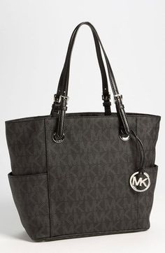 THIS is my next bag! It's beautiful and I love it and I want it and I need it NOW! Haha. PLUS, it's on sale! HELLO! :D  MICHAEL Michael Kors 'Signature' Tote available at #Nordstrom