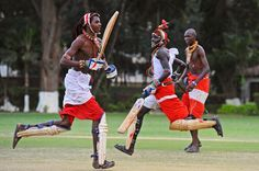 Maasai Warrior cricket team in training  Updated March 14, 2012 16:11:17    The Maasai Warriors cricket team, from the Laikipia region of Kenya, are hoping to travel to the Last Man Stands Twenty20 Championship in Cape Town, South Africa, in April 2012. The players are aiming to be role models in their communities where they are actively campaigning against FGM (Female Genital Mutilation), early childhood marriages and are fighting for the rights of women.