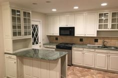 best colors for painting cabinets - sherwin williams white duck White Kitchen Cabinets, Painting Kitchen Cabinets, Kitchen Cabinet Design, Blue Cabinets, Kitchen Redo, Bathroom Cabinets, Kitchen Interior, Kitchen Storage, Kitchen Ideas