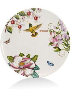 CLOSEOUT! Portmeirion Dinnerware, Botanic Hummingbird Dinner Plate