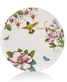 CLOSEOUT! Portmeirion Dinnerware, Botanic Hummingbird Dinner Plate