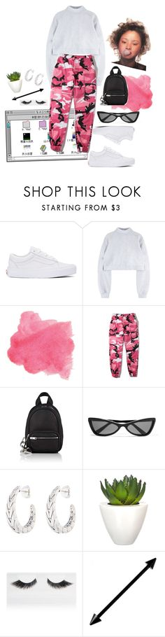 """Bubblegum baby"" by badfashiong4l ❤ liked on Polyvore featuring Vans, WithChic, Alexander Wang, Balenciaga, John Hardy, Pomax and Gorgeous Cosmetics"