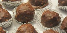 Όλοι θα λατρέψουν τα σπιτικά σοκολατάκια Ferrero Rocher Ferrero Rocher, Greek Recipes, Cake Recipes, Muffin, Homemade, Oreos, Breakfast, Potatoes, Food