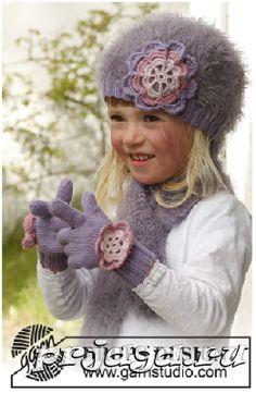 Детские перчатки спицами