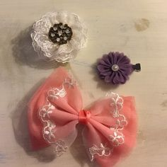 bows  Never used, made by a friend. Very strong  Forever 21 Accessories Hair Accessories