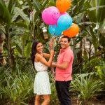 Sesión de compromiso, e-session, urbana, pareja, Urban, Pre-boda, pre-wedding, Engagement session,  balloon, globos