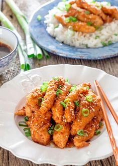 This homemade ginger chicken is amazingly easy to make right at home, with a delicious spicy ginger sauce. You might like it more than the restaurant version. Stuffing Recipes, Turkey Recipes, Chicken Recipes, Ginger Sauce, Ginger Chicken, Different Recipes, Family Meals, Family Recipes, Summer Recipes