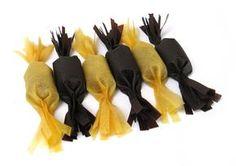 Szaloncukor 2 Truffles, Bowser, Homemade, Embroidery, Christmas, Balls, Candy, Xmas, Needlepoint