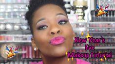 Nice Pink Glitter New Year's Eve Makeup Tutorial| PrettyPRChickTV