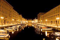 il canale del Ponterosso a Trieste