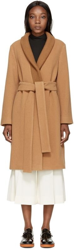 Stella McCartney - Camel Wool Coat