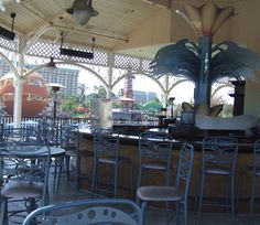 little known fact..a full bar at Disney California Adventure..great place to unwind while kids go crazy on the rides.