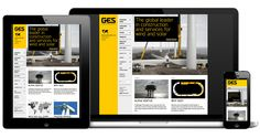 Global Energy Services – responsive website