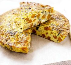 A filling omelette that makes a great midweek main for both vegetarians and meat eaters