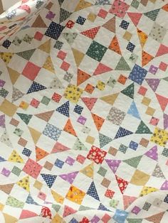 Emily's Wedding Quilt from Love of Quilting Magazine, May 2013. A combination of shoo fly and 54-40 or fight blocks on point. Pattern available through Fons & Porter's Website.