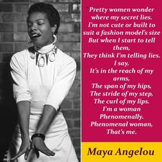 Who Is Maya Angelou, Phenomenal Woman Maya Angelou, Positive Books, Telling Lies, Mighty Girl, Fierce Women, Wit And Wisdom, Intersectional Feminism, Great Women