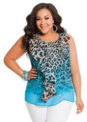 Trendy Plus Size Clothing for Full-Figured Women   AshleyStewart.com