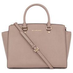 "Michael Kors ""Selma"" Taupe Bag, love this! Cheap Mk Bags, Cheap Michael Kors Bags, Michael Kors Outlet, Handbags Michael Kors, Mk Handbags, Fashion Handbags, Fashion Bags, Runway Fashion, Fashion Spring"