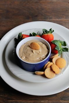 Peanut Butter and Banana Dip from @Kate Petrovska | Diethood