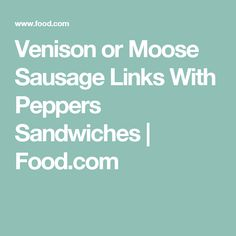 how to make venison breakfast sausage links