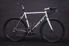 GTR, Satin Pearl White, X-Power Grey, Corretto by Baum Cycles, via Flickr