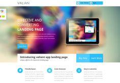 40  Innovative Landing Page Templates