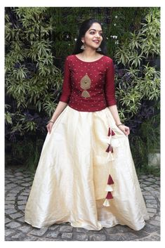 Long Skirt Top Designs, Long Skirt And Top, Long Dress Design, Stylish Dress Designs, Stylish Dresses, Long Skirts With Tops, Formal Dresses, Indian Fashion Dresses, Indian Gowns Dresses