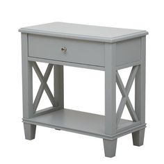 You'll love the 1 Drawer End Table at Wayfair - Great Deals on all Furniture  products with Free Shipping on most stuff, even the big stuff.