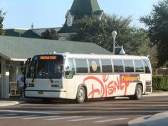 Disney Transport Bus - easy to get from your resort to any Disney Park