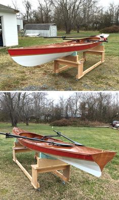 Expedition Wherry built by David U. of Oxford, MD.