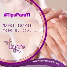 Después de lavarte las manos aplícate crema. Esta simple acción evita que la piel se reseque #doce04tips