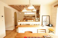 真っ白の外壁が印象的な可愛い家