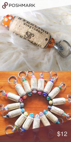 Wine Craft, Wine Cork Crafts, Wine Bottle Crafts, Bead Crafts, Wine Cork Ornaments, Wine Cork Projects, Cork Art, Craft Day, Diy Bottle